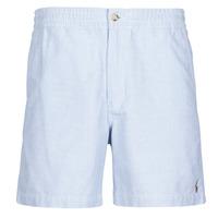 Kleidung Herren Shorts / Bermudas Polo Ralph Lauren SHORT PREPSTER AJUSTABLE ELASTIQUE AVEC CORDON INTERIEUR LOGO PO Blau