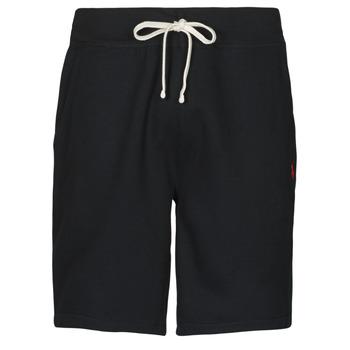 Kleidung Herren Shorts / Bermudas Polo Ralph Lauren SHORT MOLTONE EN COTON LOGO PONY PLAYER Schwarz