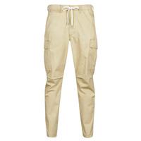 Kleidung Herren Cargo Hosen Polo Ralph Lauren SHORT PREPSTER AJUSTABLE ELASTIQUE AVEC CORDON INTERIEUR LOGO PO Beige