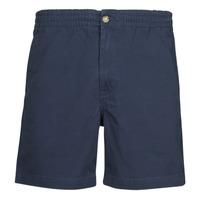 Kleidung Herren Shorts / Bermudas Polo Ralph Lauren SHORT PREPSTER AJUSTABLE ELASTIQUE AVEC CORDON INTERIEUR LOGO PO Marine