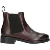 Schuhe Damen Boots Frau 98L3 Bordeaux