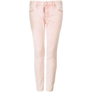 Kleidung Damen 5-Pocket-Hosen Dsquared  Rose