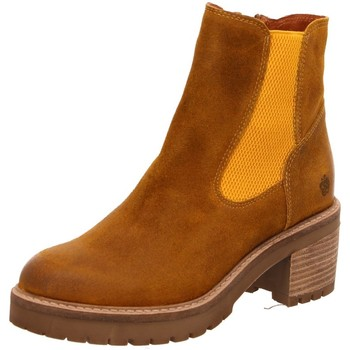 Schuhe Damen Low Boots Apple Of Eden Stiefeletten Sky Sky yellow braun