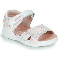 Schuhe Mädchen Sandalen / Sandaletten Biomecanics 212165 Weiss
