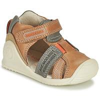 Schuhe Jungen Sandalen / Sandaletten Biomecanics 212135 Cognac