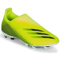 Schuhe Kinder Fußballschuhe adidas Performance X GHOSTED.3 LL FG J Gelb / Schwarz