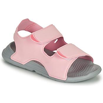 Schuhe Mädchen Sandalen / Sandaletten adidas Performance SWIM SANDAL C Rose