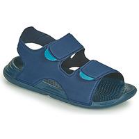 Schuhe Jungen Sandalen / Sandaletten adidas Performance SWIM SANDAL C Blau