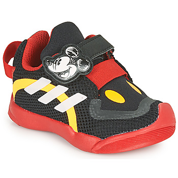 Schuhe Kinder Sneaker Low adidas Performance ACTIVEPLAY MICKEY I Schwarz / Rot
