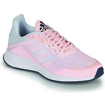 Schuhe Mädchen Sneaker Low adidas Performance DURAMO SL K Rose