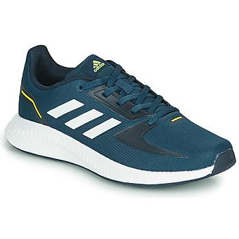 Schuhe Kinder Sneaker Low adidas Performance RUNFALCON 2.0 K Marine / Weiss