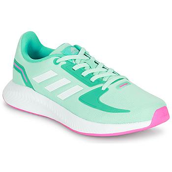 Schuhe Mädchen Sneaker Low adidas Performance RUNFALCON 2.0 K Türkis / Rose