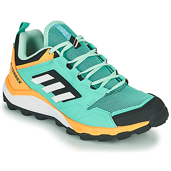 Schuhe Damen Laufschuhe adidas Performance TERREX AGRAVIC TR W Blau / Orange