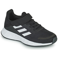 Schuhe Kinder Sneaker Low adidas Performance DURAMO SL C Schwarz / Weiss