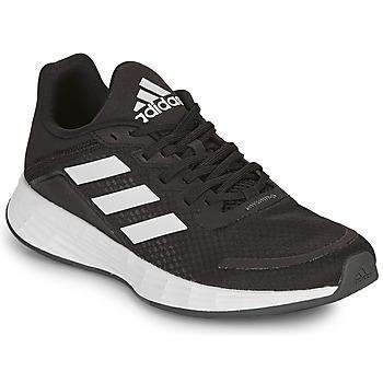 Schuhe Kinder Sneaker Low adidas Performance DURAMO SL K Schwarz / Weiss
