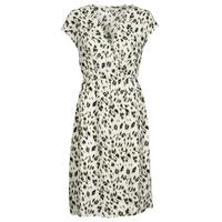 Kleidung Damen Kurze Kleider See U Soon 21122122 Beige / Kaki