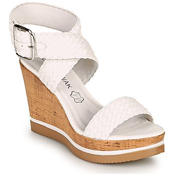 Schuhe Damen Sandalen / Sandaletten Chattawak JANE Weiss