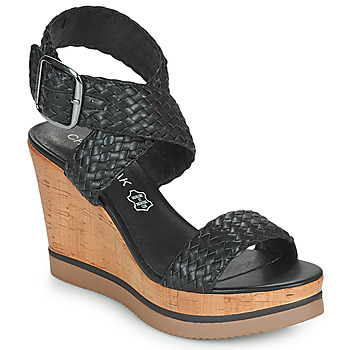 Schuhe Damen Sandalen / Sandaletten Chattawak JANE Schwarz