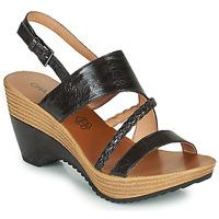 Schuhe Damen Sandalen / Sandaletten Chattawak JULIETTE Schwarz