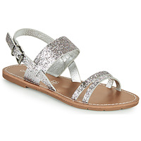 Schuhe Damen Sandalen / Sandaletten Chattawak MONIA Silbern