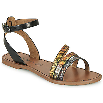 Schuhe Damen Sandalen / Sandaletten Chattawak PAGO Schwarz / Multifarben