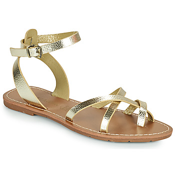 Schuhe Damen Sandalen / Sandaletten Chattawak PERLA Gold