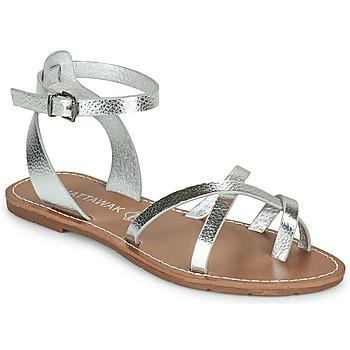 Schuhe Damen Sandalen / Sandaletten Chattawak PERLA Silbern