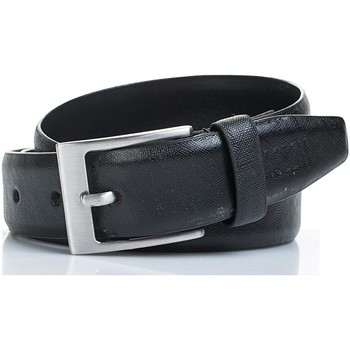 Accessoires Gürtel Jaslen Snake Leather Schwarz