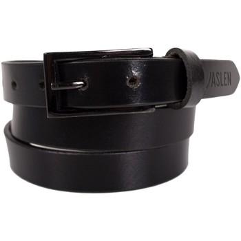 Accessoires Gürtel Jaslen Unisex Leather Schwarz