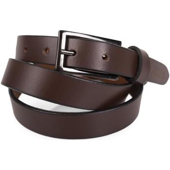Accessoires Gürtel Jaslen Unisex Leather Braun
