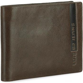 Taschen Herren Portemonnaie Lois EAGLE Horizontal Leder Herren Brieftasche Braun
