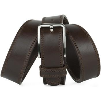 Accessoires Herren Gürtel Jaslen Formal Leather Schwarz