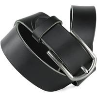 Accessoires Gürtel Jaslen Hebijon Leather Schwarz