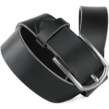 Accessoires Gürtel Jaslen Hebijon Leather Marine Blau