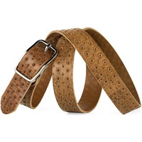 Accessoires Gürtel Jaslen Exclusive Leather Graviertes Leder