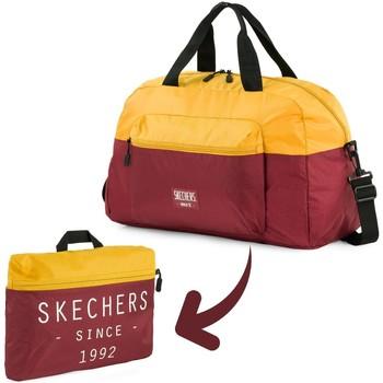 Taschen Reisetasche Skechers MOVE Integrierte Tasche Klapp-Fitness-Tasche Altgold