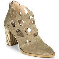 Schuhe Damen Low Boots Myma PAGGE Maulwurf