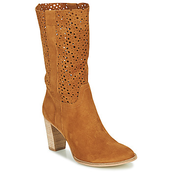 Schuhe Damen Low Boots Myma PAGGA Camel