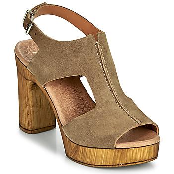 Schuhe Damen Sandalen / Sandaletten Myma POULISSA Maulwurf