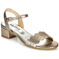 Schuhe Damen Sandalen / Sandaletten Myma POULISSADE Gold
