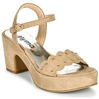 Schuhe Damen Sandalen / Sandaletten Myma POULIDOU Maulwurf