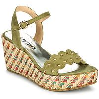 Schuhe Damen Sandalen / Sandaletten Myma POLIDO Kaki
