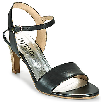 Schuhe Damen Sandalen / Sandaletten Myma POLIDOME Schwarz