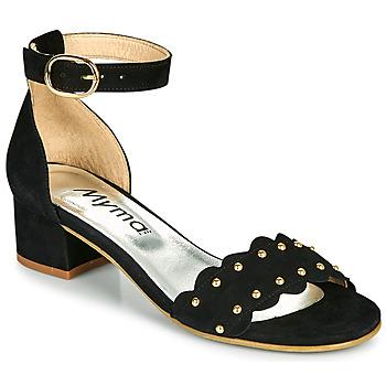 Schuhe Damen Sandalen / Sandaletten Myma POLIVAR Schwarz