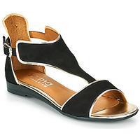 Schuhe Damen Sandalen / Sandaletten Myma POLIBO Schwarz
