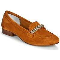 Schuhe Damen Slipper Myma PIBINA Camel