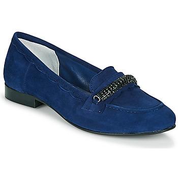 Schuhe Damen Slipper Myma PIBINA Marine