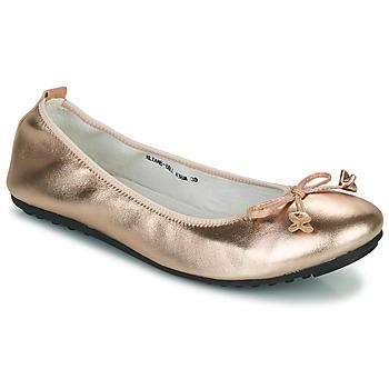 Schuhe Damen Ballerinas Mac Douglas ELIANE Rose / Gold