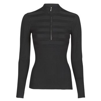 Kleidung Damen Pullover Morgan MENZIP.N Schwarz