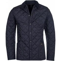 Kleidung Herren Jacken Barbour MQU0240 NY92 Mantel Mann BLAU BLAU